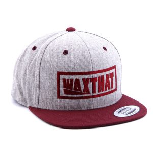 Waxthat Snapback Red